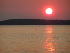 Sunset on Lake Vermilion