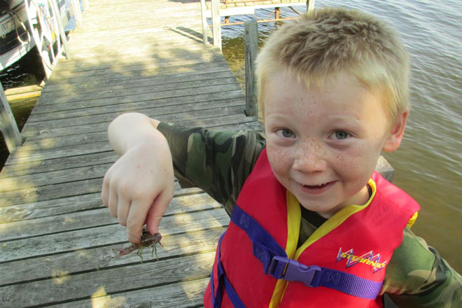 Crayfish in Hand
