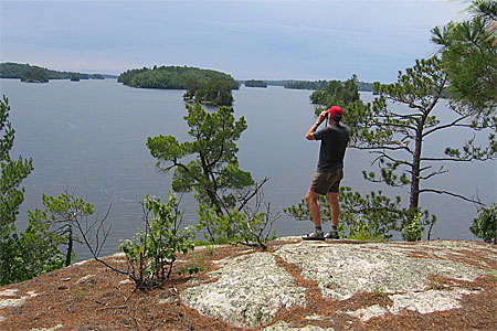 Lake Vermilion State Park Overlook